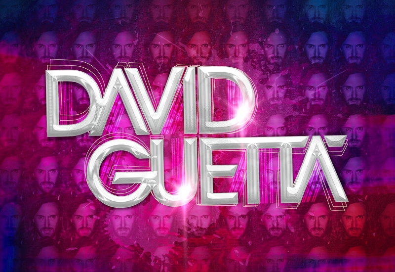 David Guetta visual